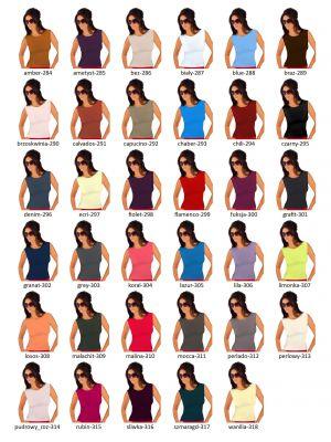 На картинке изображено - Женская блуза без рукавов из мягкой вискозы Babell Indi sale | фото 2