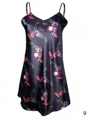 На картинке изображено - Женская ночная сорочка с цветочным узором Dkaren DK-HK | фото 6