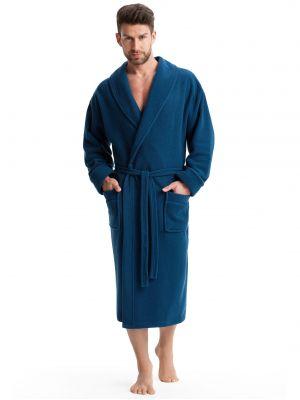 На картинке изображено - Мужской теплый халат Dorota FR-020 | фото 2
