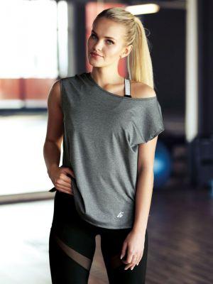 На картинці зображено - Жіноча оригінальна спортивна футболка Eldar Aida Fit | фото 2