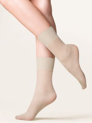 На картинке изображено - Женские фантазийные носки с люрексом Gabriella Tova | фото 4