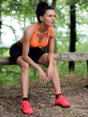 На картинці зображено - Жіночий спортивний бюстгальтер-топ Gatta Active Sport | фото 7