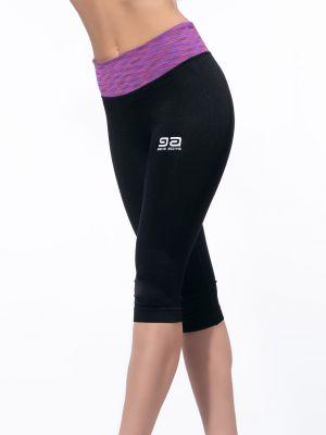 На картинці зображено - Жіночі спортивні легінси з кольоровою широкою резинкою Gatta Active Sport | фото 3