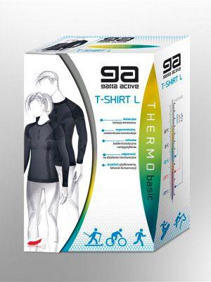 На картинке изображено - Термоактивная спортивная футболка с длинным рукавом Gatta Active Fagi Unisex | фото 5