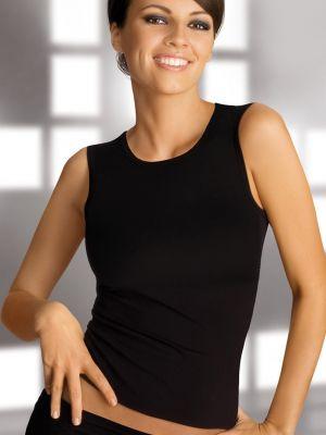 На картинке изображено - Женская майка на широких бретелях Gatta Vest 60den | фото 10