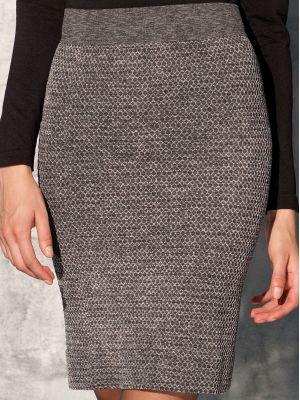 На картинке изображено - Женская короткая юбка Gatta Blanca 01 | фото 2