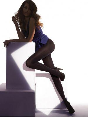 На картинке изображено - Женские полуматовые колготки Gatta Estella Lycra 15den | фото 2