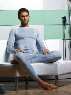 На картинці зображено - Чоловічі спортивні термолеггінси Hanna Style 05-15 ProClima | фото 3