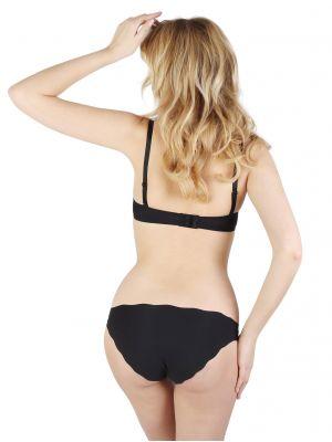 На картинке изображено - Хлопковые трусики бикини с плоскими швами Hanna Style 03-63 | фото 9