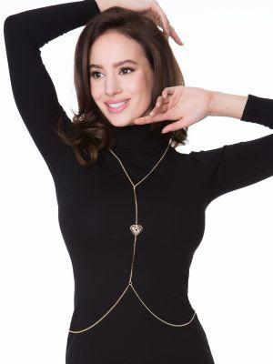 На картинке изображено - Декоративная цепочка для тела Julimex Bijoux Ivy | фото 4