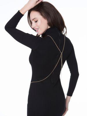 На картинке изображено - Декоративная цепочка для тела Julimex Bijoux Ivy | фото 6
