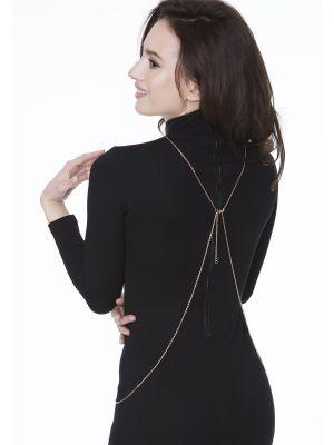 На картинці зображено - Елегантний декоративний ланцюжок для тіла Julimex Wendy | фото 3