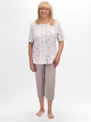 На картинке изображено - Женская летняя пижама с рукавом 3/4 Martel 200 Maria | фото 4