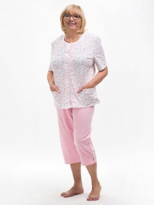 На картинке изображено - Женская летняя пижама с рукавом 3/4 Martel 200 Maria | фото 2