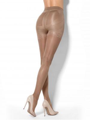 На картинці зображено - Жіночі моделюючі колготи з трусиками пуш-ап Mona Push-up 20 den | фото 3
