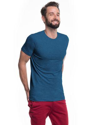 На картинке изображено - Мужская бесшовная футболка Promostars Heavy Slim 21174 | фото 4